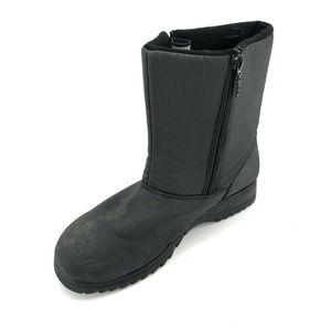 Totes Snow Winter Rain Boots Shoes Sz 11 Black